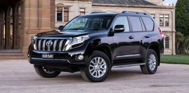 Toyota Land Cruiser Prado или Infiniti QX60