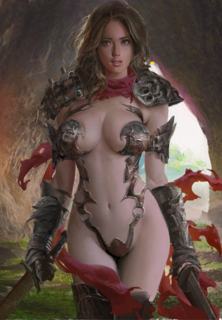 Naked women warriors and angels fantasy hentai girlfriends